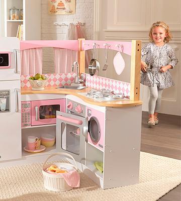 5 best play kitchens of 2017 - Kidkraft grand gourmet rot ...