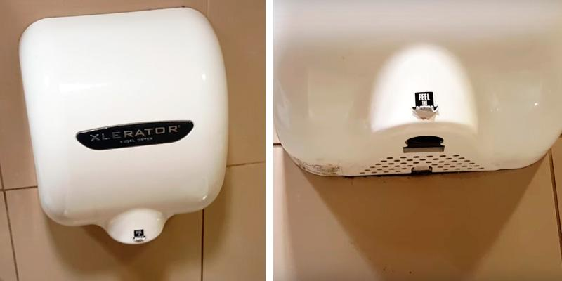 Bathroom hand dryers